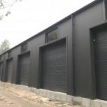 Строительство гаражей для техники, Вологда